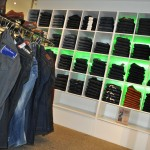 Jeans Island and Wall at Mainline Menswear Scarborough