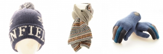 Penfield Bobble Hat Ted Baker Scarf Paul Smith Gloves