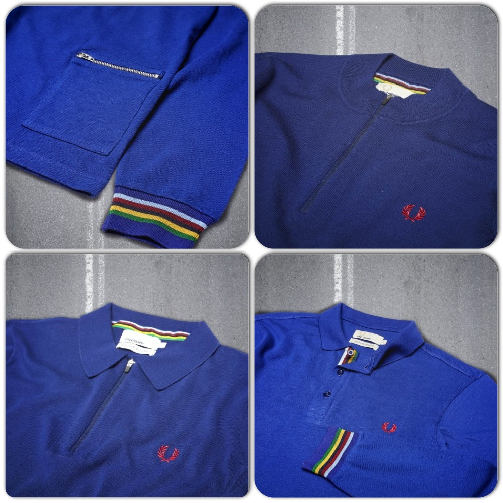 Bradley Wiggins x Fred Perry Menswear Collection - Teaser Photographs