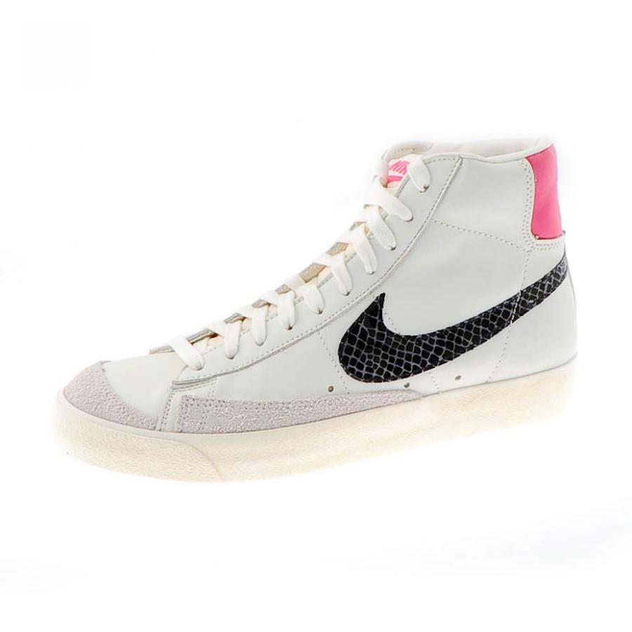best service 933bd e58b6 Nike Blazer Mid 77 PRM Trainers White and Pink