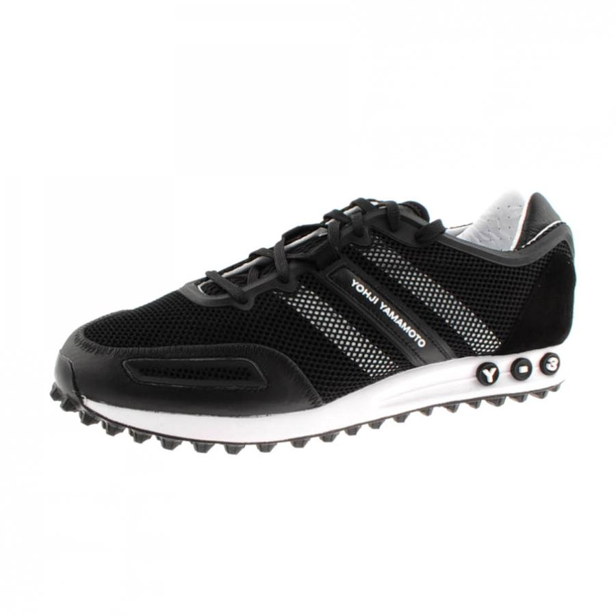 5c974fa7f6d9 Adidas Y3 Logo T Shirt in Black at Mainline Menswear Y-3 Tokio Trainers in  Black at Mainline Menswear