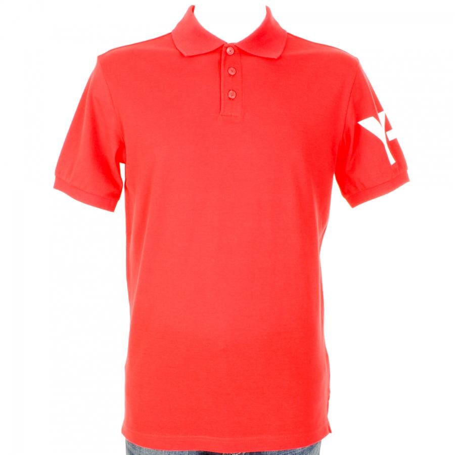 Y-3 Classic Polo T Shirt in Red at Mainline Menswear