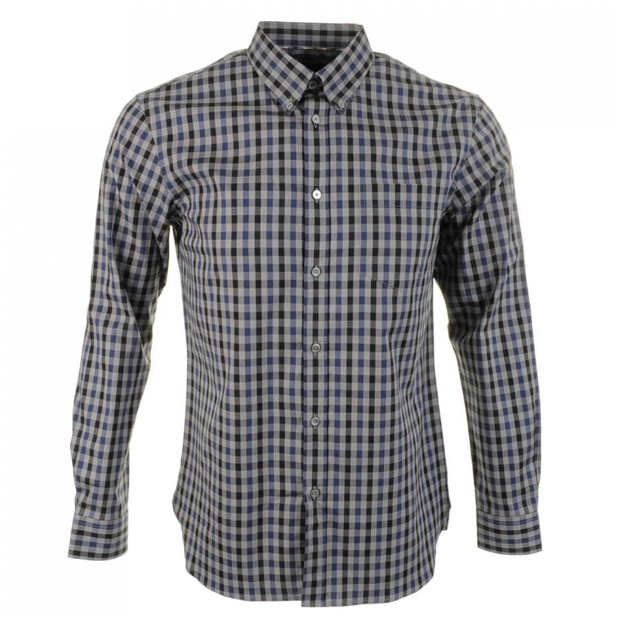 Aquascutum Button Club Shirt at Mainline Menswear at Mainline Menswear
