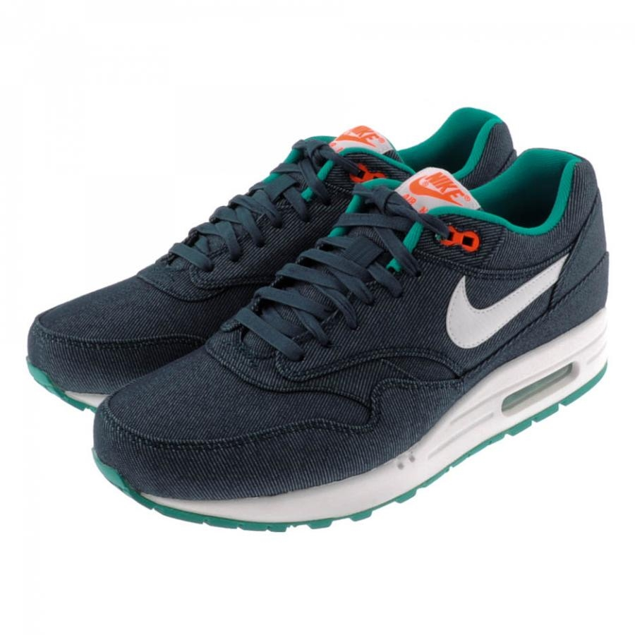 Nike Air Max 1 Prm Trainers Mid Turquoise