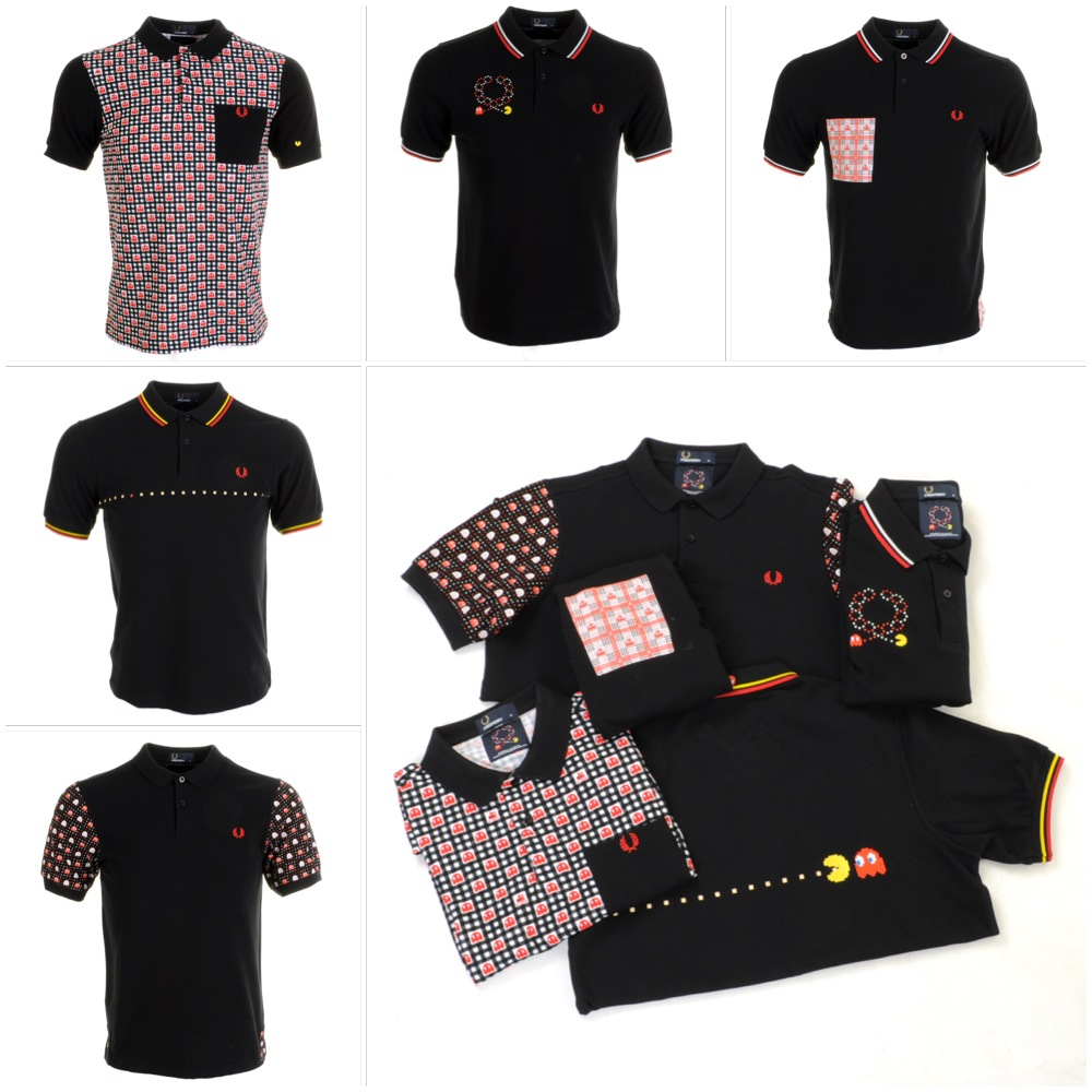 Fred Perry x Pac Man x Ten_do_Ten Polo Shirts at Mainline Menswear