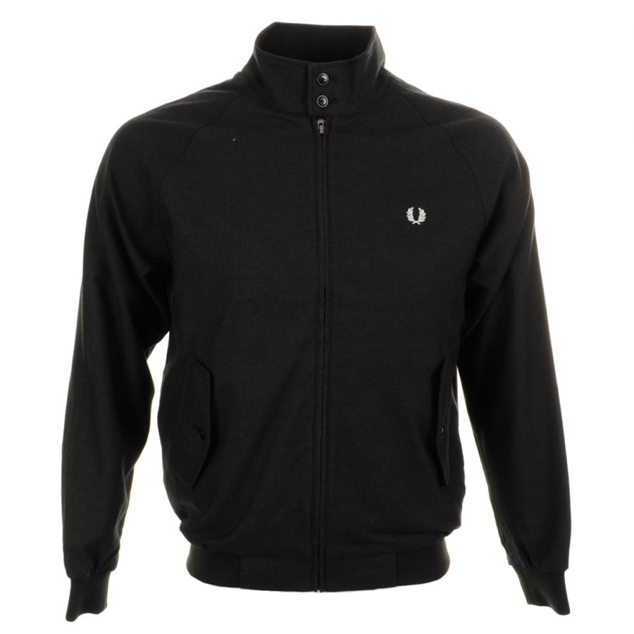 Fred Perry x Twisted Wheel Harrington Jacket Black