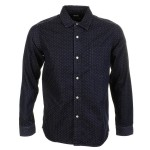 Edwin Work Shirt Japanese Dots Denim