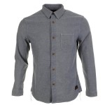 Evisu Single Denim Shirt Grey