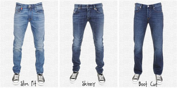 cuts of jeans
