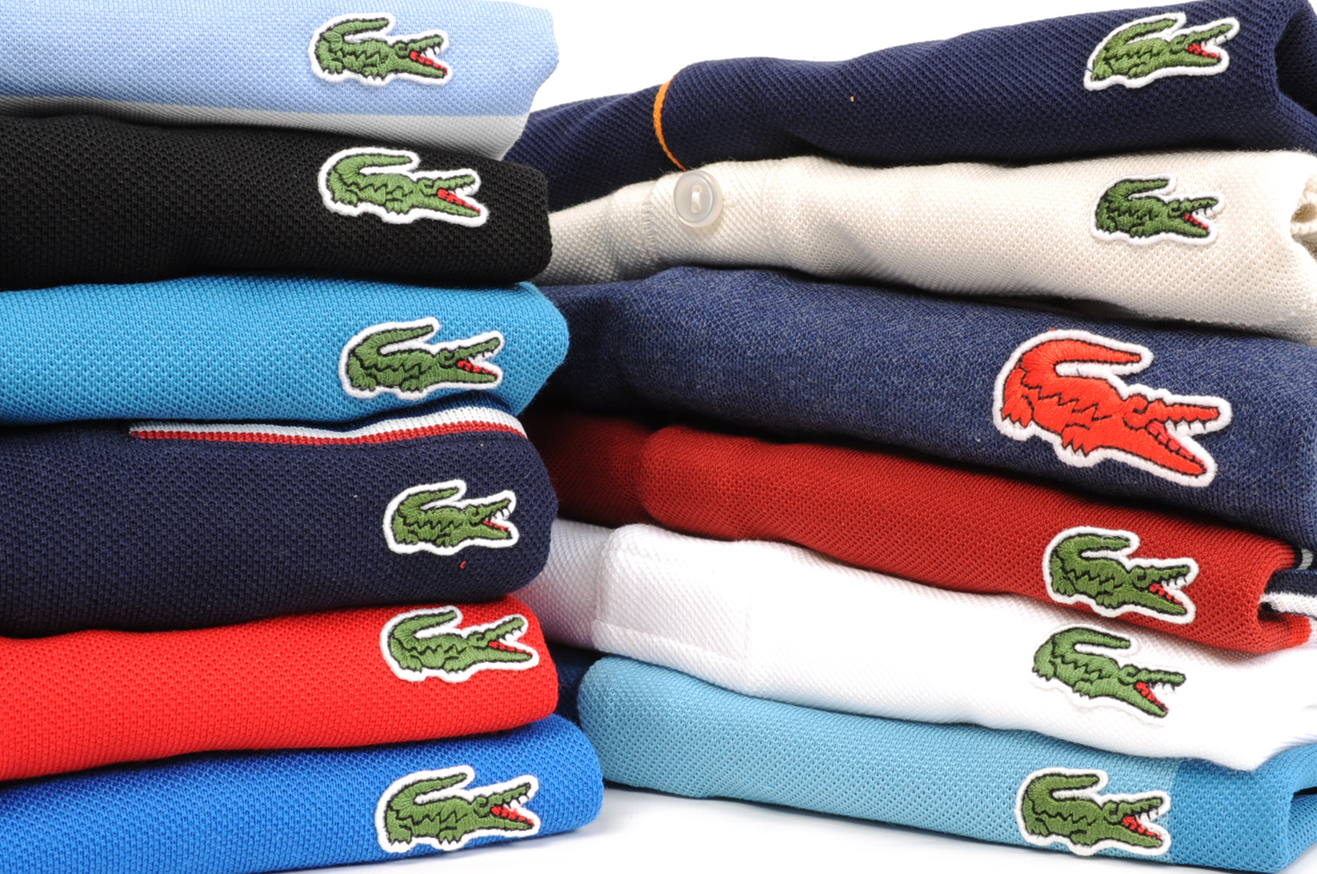Lacoste polo shirts at Mainline Menswear