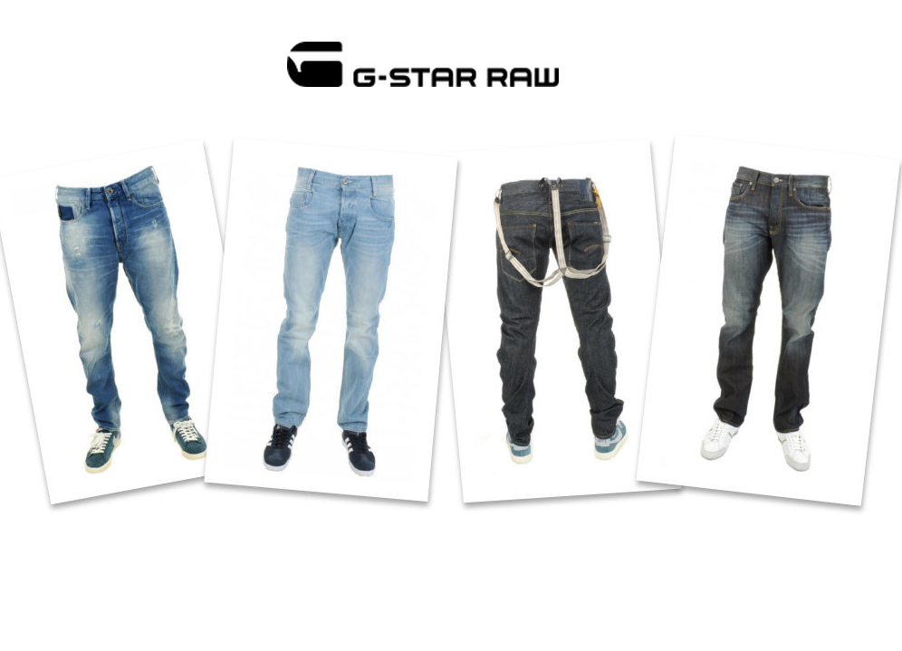 G-star RAW jeans at Mainline Menswear