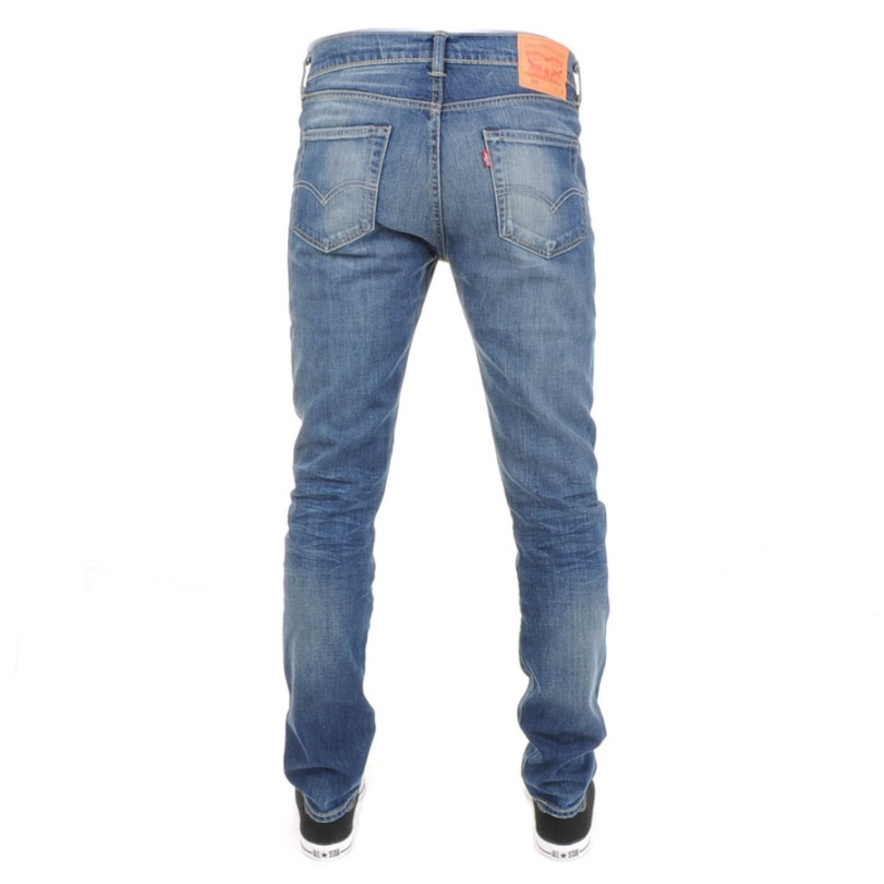 Levis skinny fit jeans in Canyon Blue