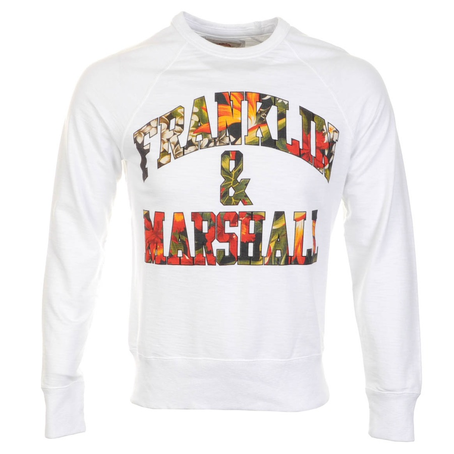 Franklin Marshall Sweater White