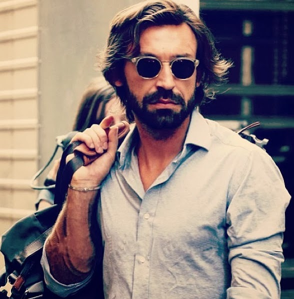 World Cup Style Icon Andrea Pirlo