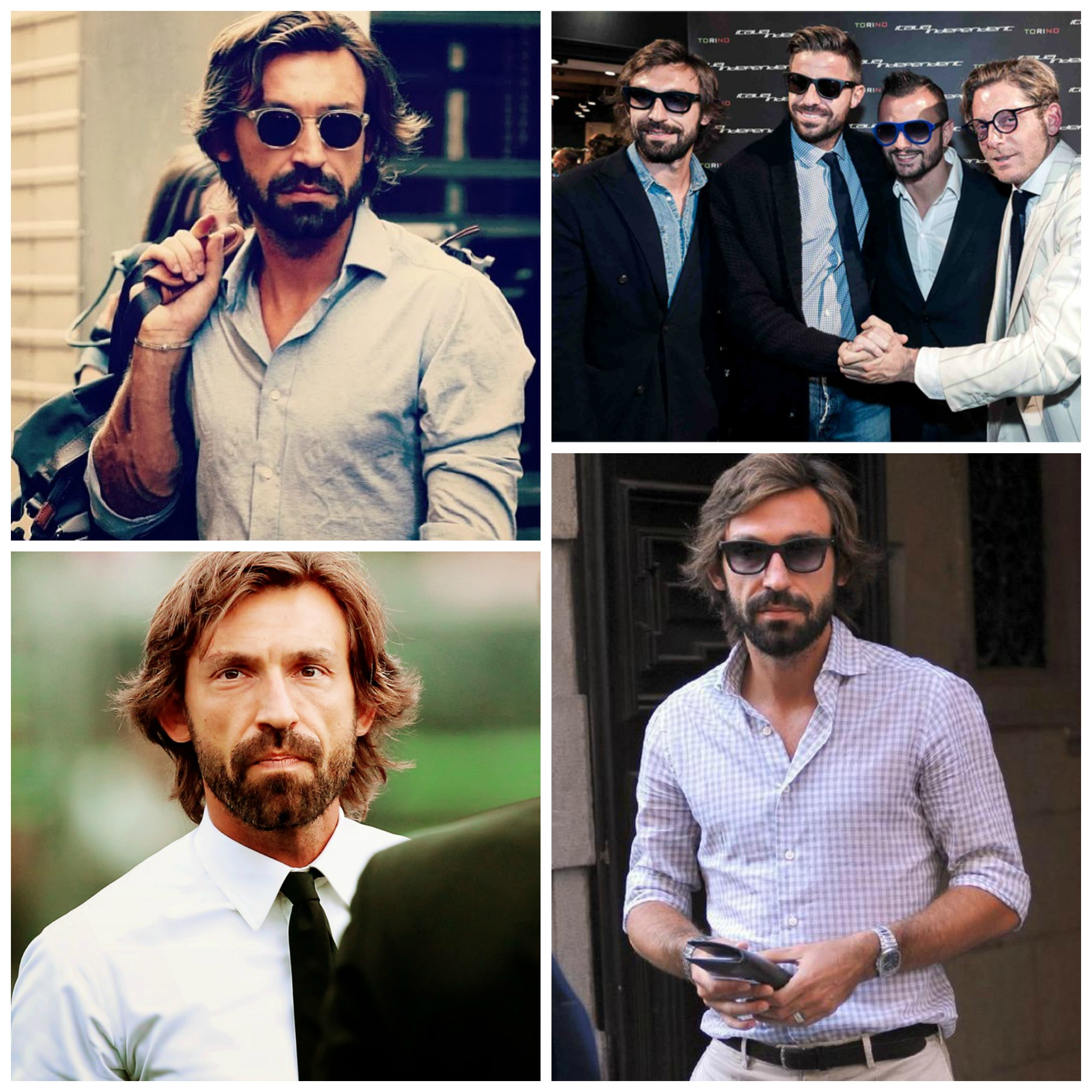 Dressed up Pirlo