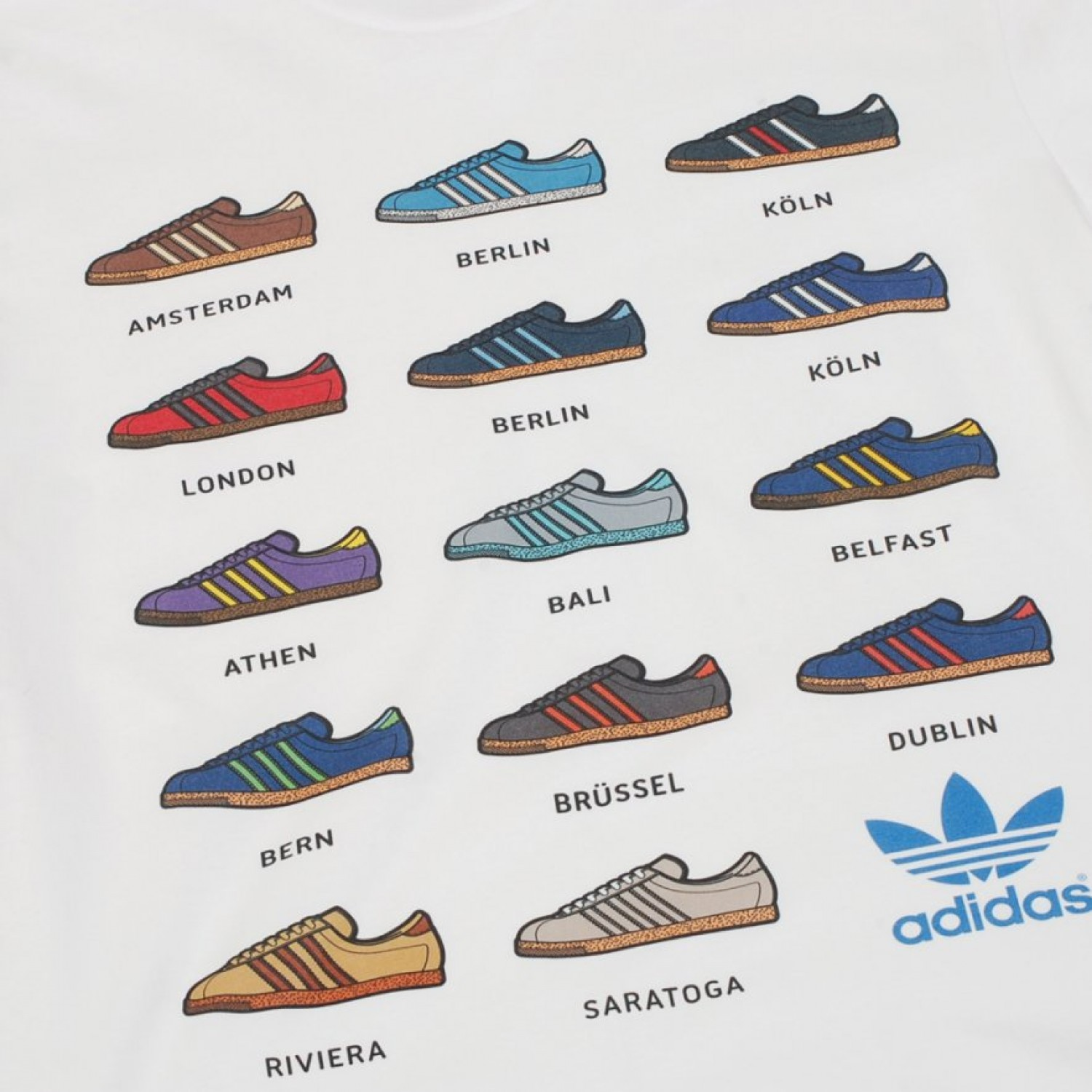 adidas city series list