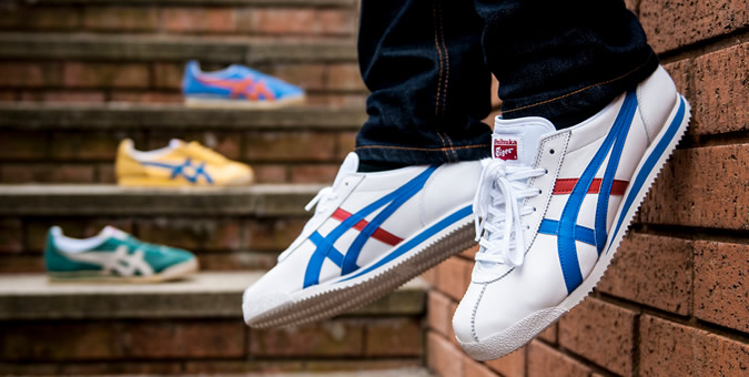 latest trends top design closer at Asics & Onitsuka Tiger Arrive at Mainline Menswear