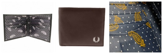 Fred Perry Wallet Details
