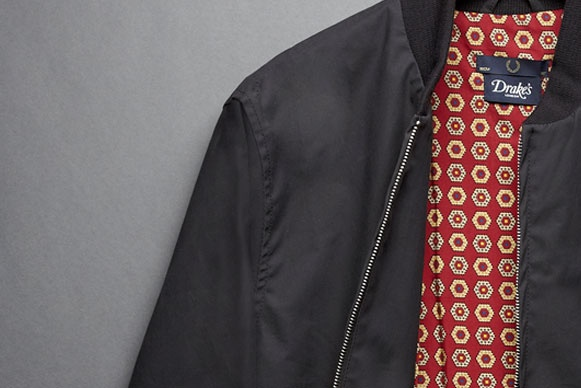 Fred Perry x Drakes Bomber