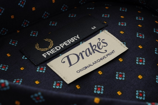 Fred Perry x Drake's
