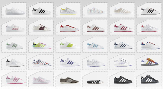 adidas superstar all models
