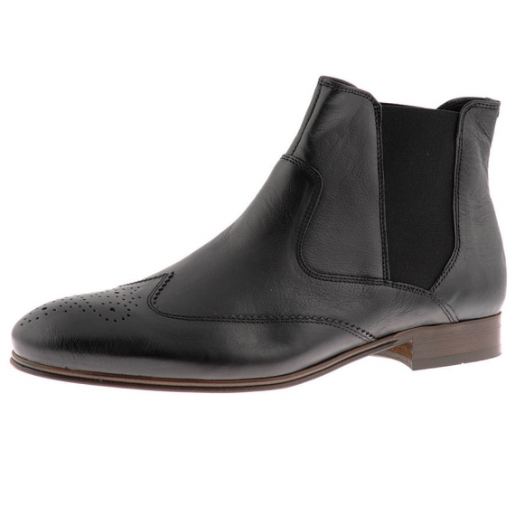 H by Hudson Black Chelsea Boots