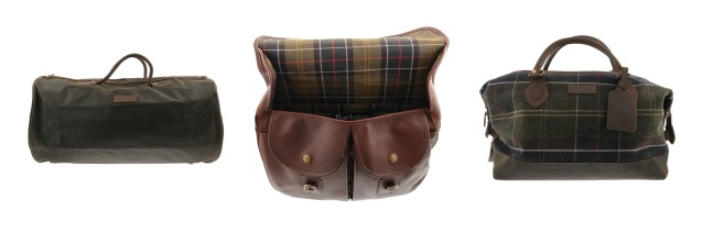 barbour bag collection