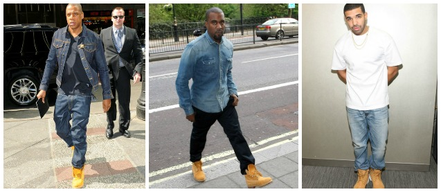 rappers timberlands