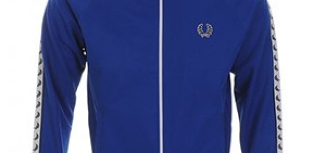 Fred Perry SA blue track top