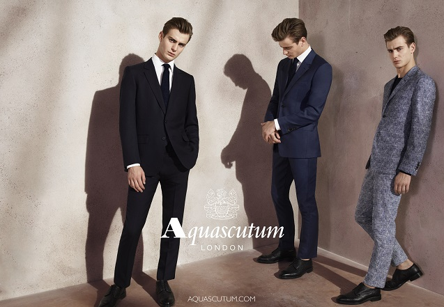 Aquascutum: The History Behind The Famous Check