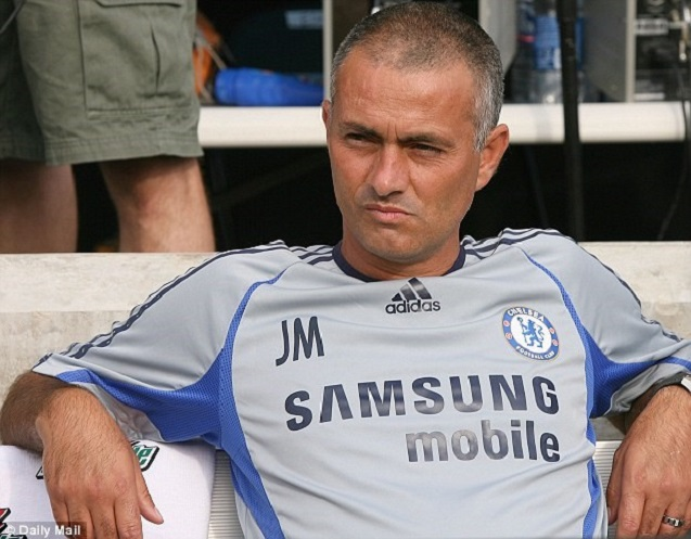 Jose Mourinho Fashion Timeline