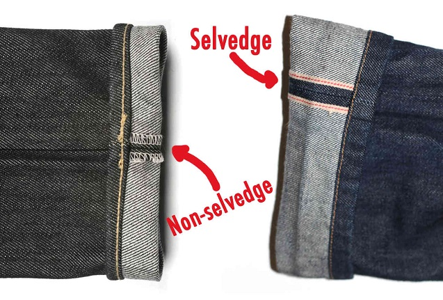 c743ca7986e631 As it takes more time to produce selvedge jeans, most of the jeans you can  buy commercially today won't be selvedge – you can clearly tell the  difference on ...
