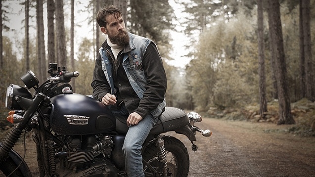 Barbour International x Triumph
