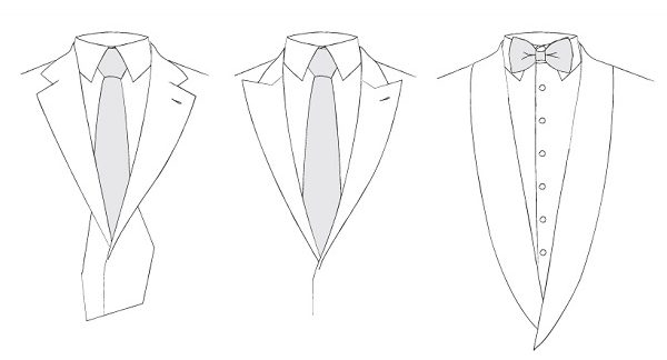 how to draw a suit