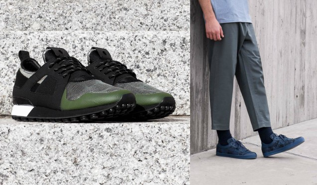 sports luxe trainers