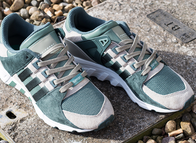 Product Focus - Adidas EQT Support Trainers in 'Trace Green'
