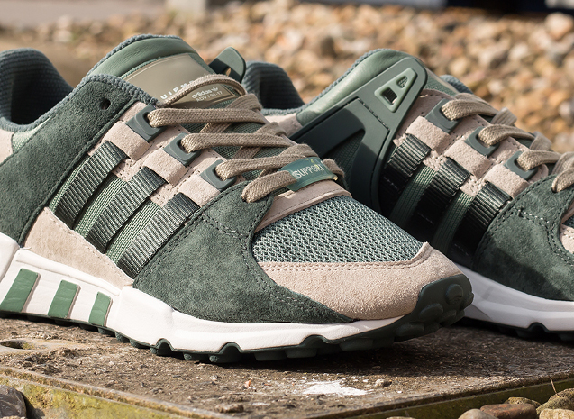 separation shoes 8ee62 68755 Adidas EQT Support RF Trace Green | Mainline Menswear Blog