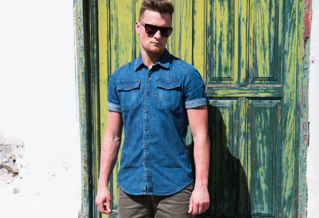 f83c0665673bc In the past few years we've seen a comeback for the denim shirt in the  fashion world. Various celebrities have set the tone on how to wear them  and how good ...