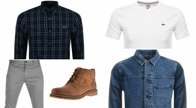 How to Wear a T-Shirt and Chinos Combo All Year Round