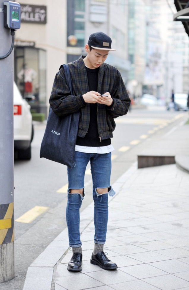 Man In Ripped Jeans