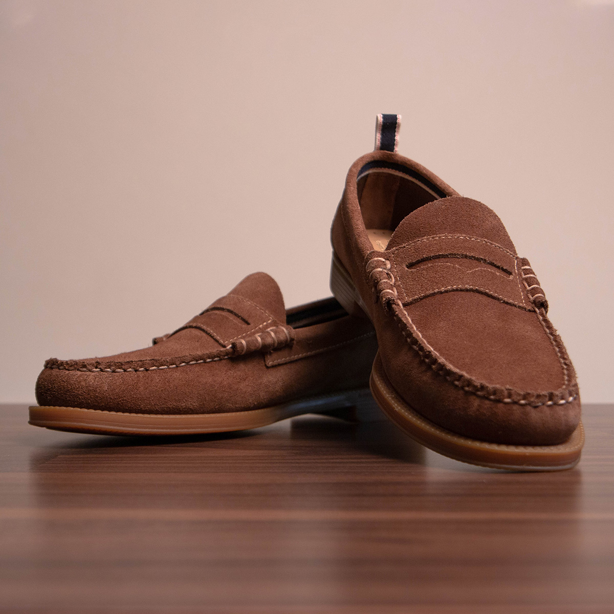 Some brown GH Bass Shoes