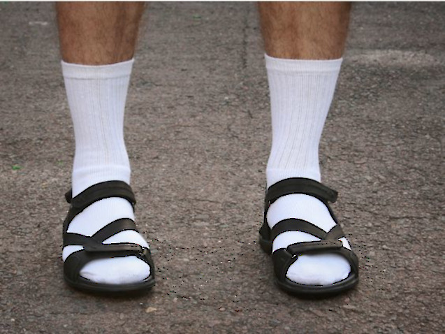 Socks With Sandals