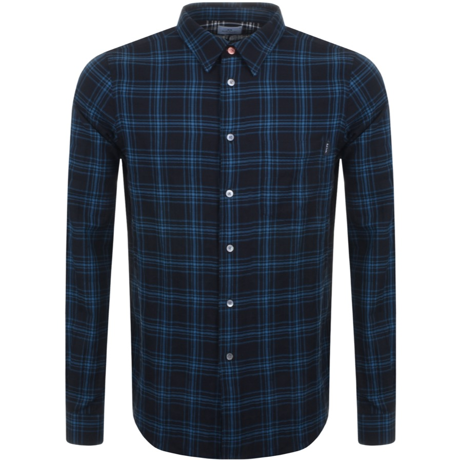 paul smith checked shirt