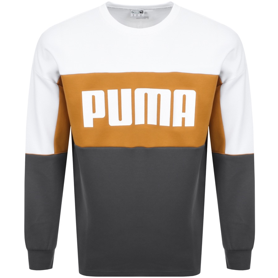 Puma shirt in grey and orange