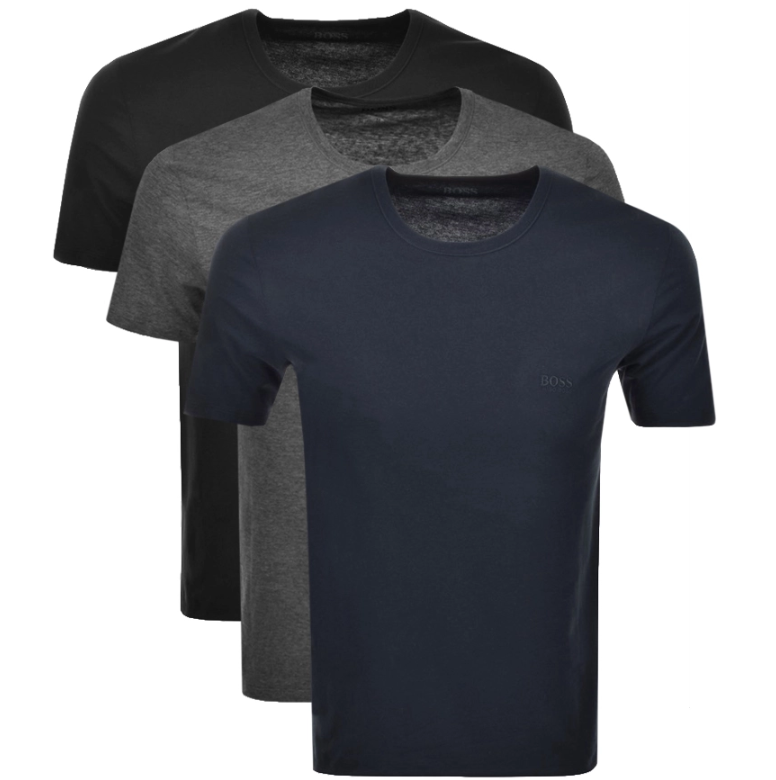 Hugo Boss T shirts in green, grey and navy