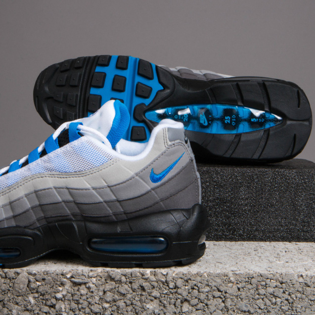 New In  Nike Air Max 95  Crystal Blue   62b065ee4267