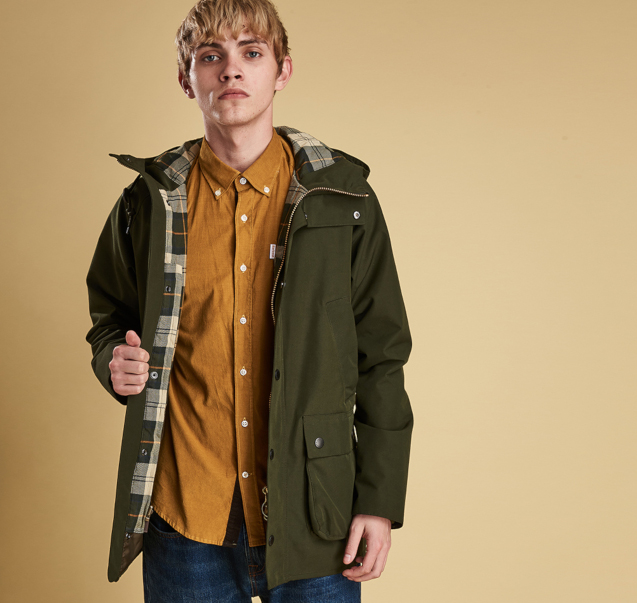 barbour coat for men
