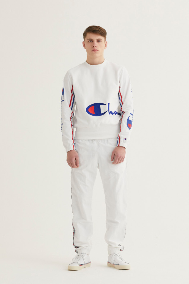 mens designer tracksuit from Champion