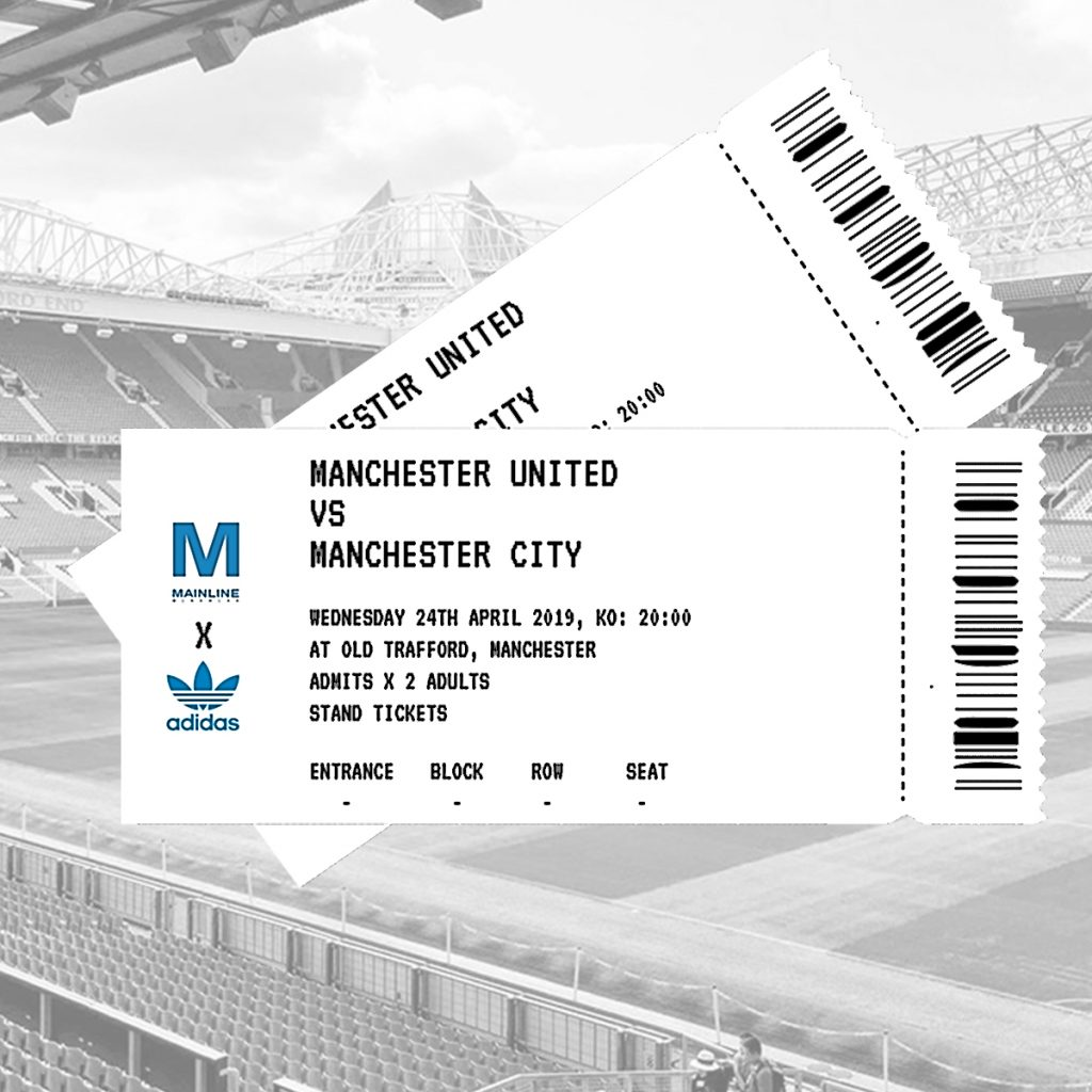 Manchester Derby Ticket