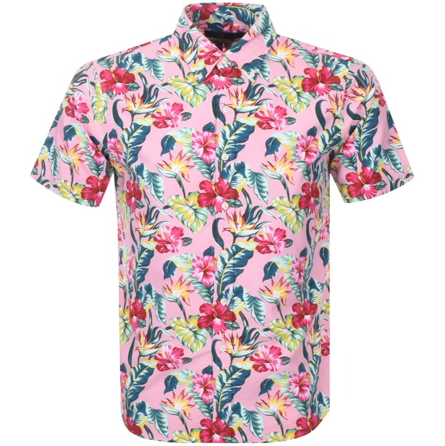 Patterned Pink Shirt By Ralph Lauren